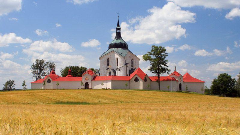 Костел св. Яна Непомуцкого на Зеленой горе