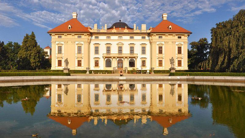 Castillo Slavkov cerca de Brno