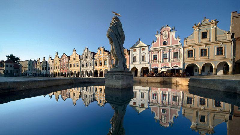 Telč - square
