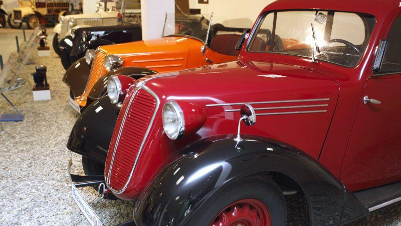 Kopřivnice - Museo tecnico Tatra