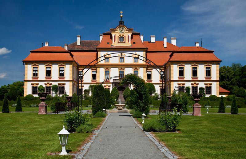 Le château de Jemniště