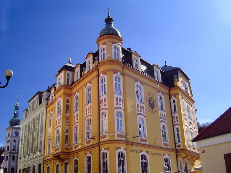 Hotel Císař Ferdinand in Loket