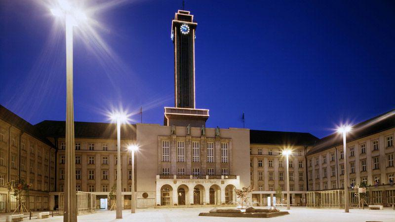 Ostrava - Ayuntamiento Nuevo