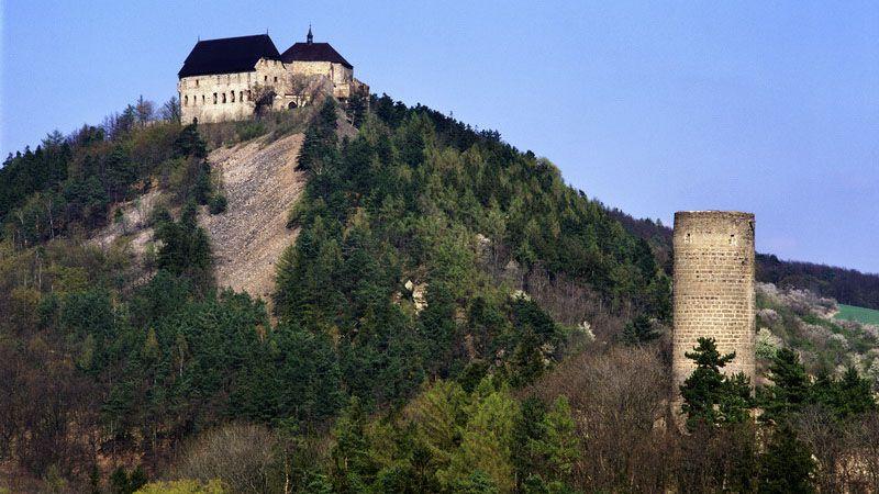 Žebrák and Točník castles
