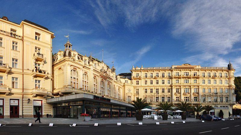 Karlovy Vary - le Grand hôtel Pupp