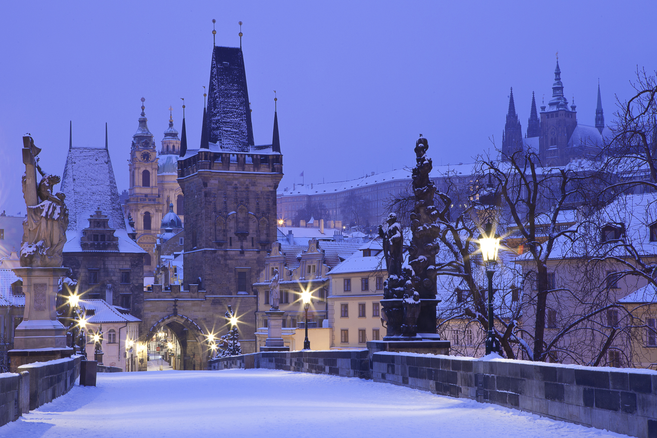 Winter Romance in the Czech Republic