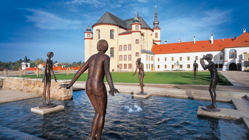 Litomyšl – Klostergärten