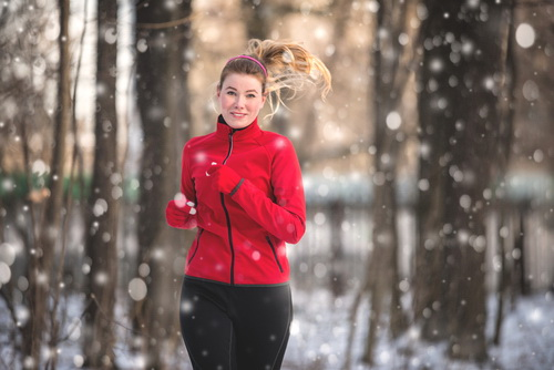 How about taking a run in the snow? Join one of the winter running events.