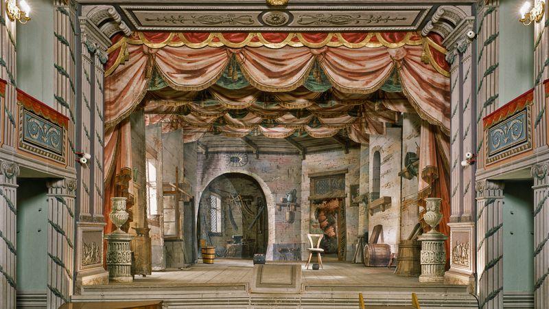 Litomyšl - le théâtre du château