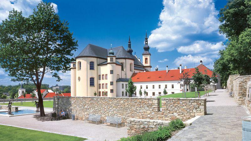 Litomyšl - les jardins du monastère