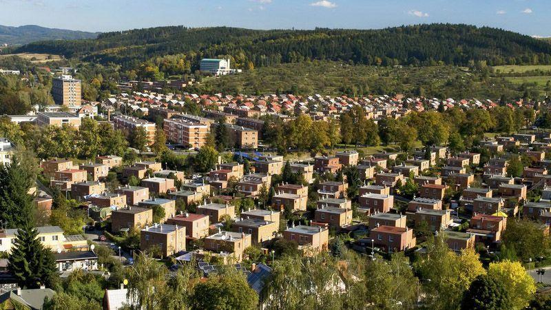 Zlín - les maisons Baťa