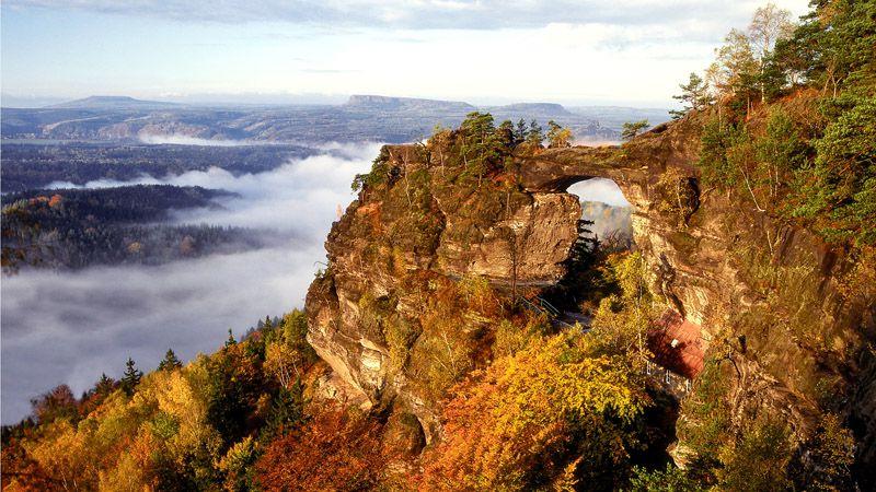 La Suisse tchèque - la porte de Pravčice