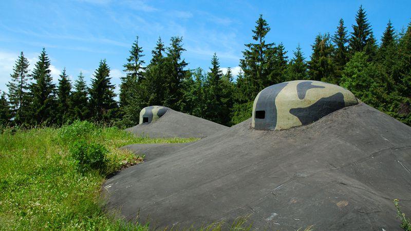 Hanička Artillery Fort