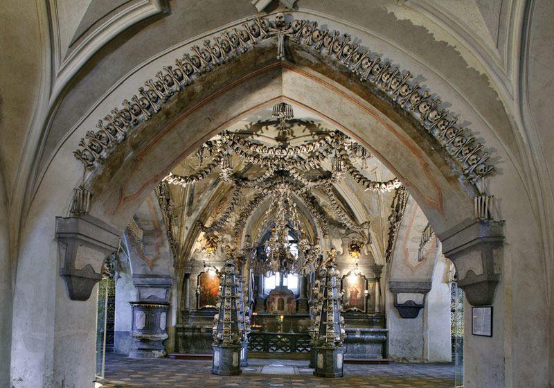 Kutná Hora - l'ossuaire de Sedlec