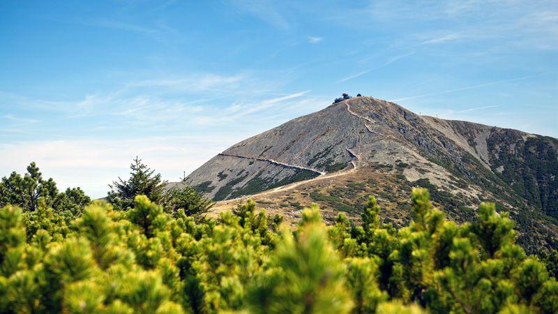 Les Monts des Géants - le mont Sněžka