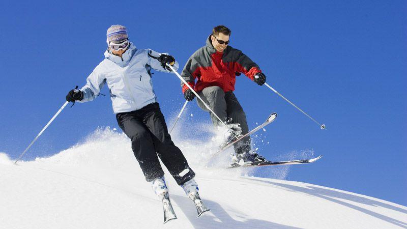 Skigebiet Klínovec