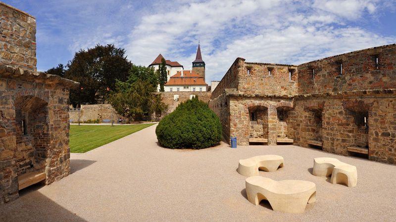 Jičín - chateau garden