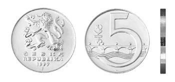5 Czech Crowns