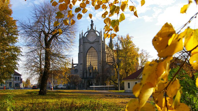 Kutná Hora - Church of the Assumption of the Virgin Mary in Sedlec