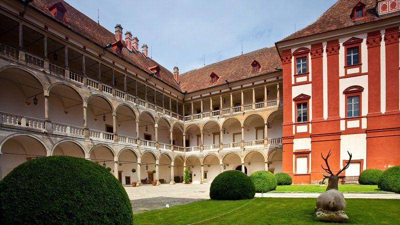 Le château d'Opočno