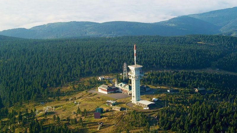 Monti Metalliferi - monte Klínovec
