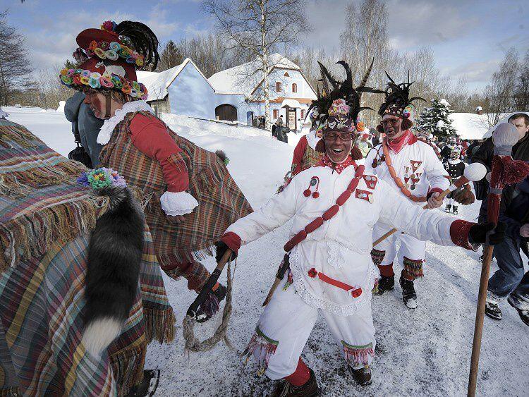 Vortová carnival procession