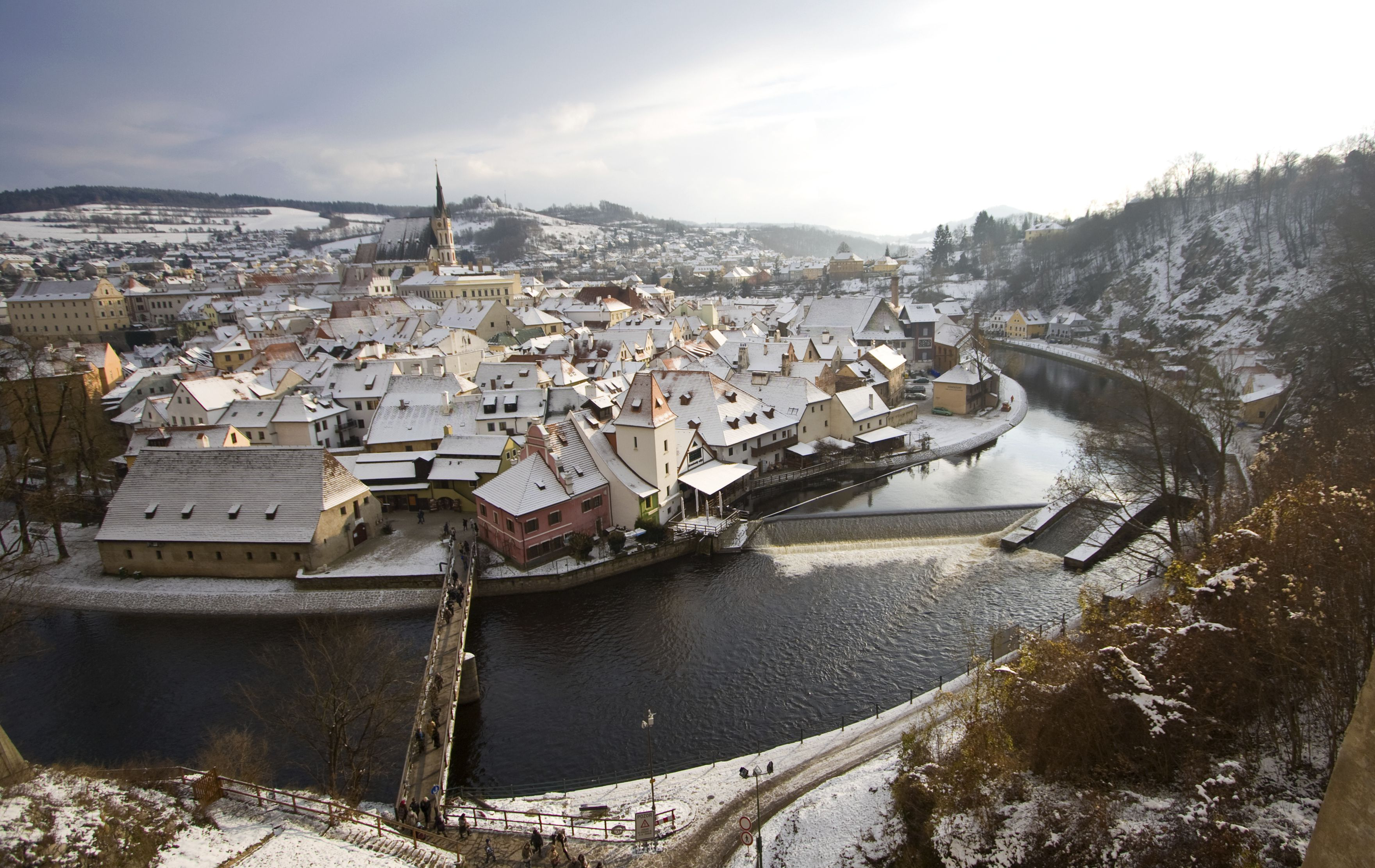 Discover Český Krumlov in winter – a pearl amongst Czech UNESCO cities