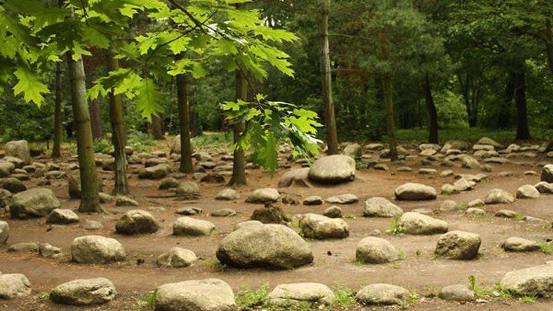 Loučeň - stone maze