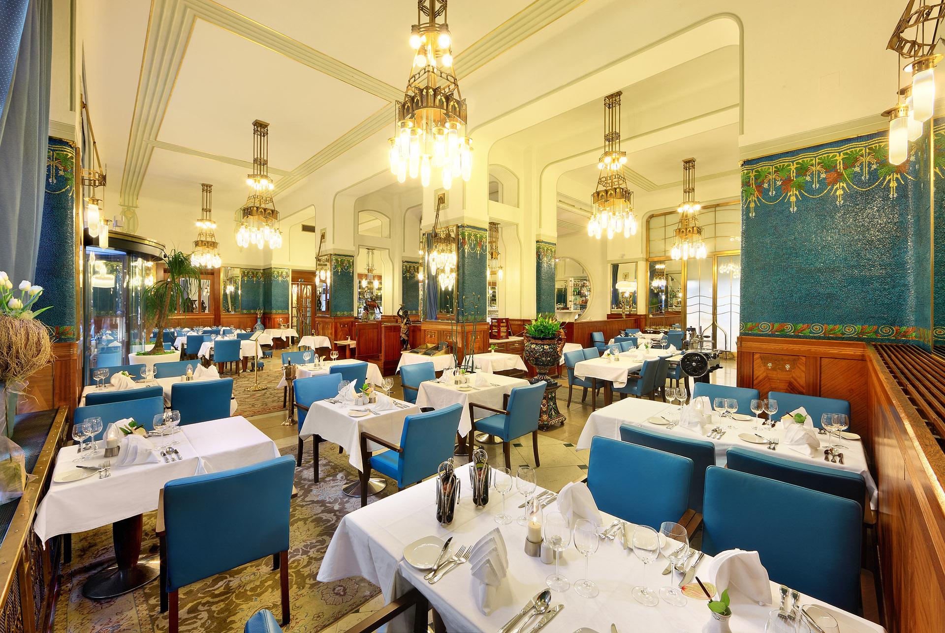 L'hôtel Paříž à Prague