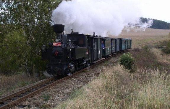 Czech Republic - Jindřichohradec narrow-gauge trains