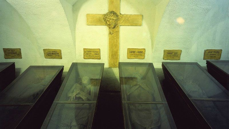 Brno - Capuchin Tomb