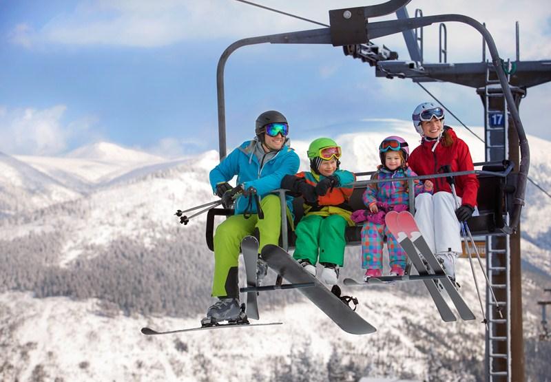 Veel mogelijkheden voor skiën, langlaufen, uitrusten en op sneeuw dollen