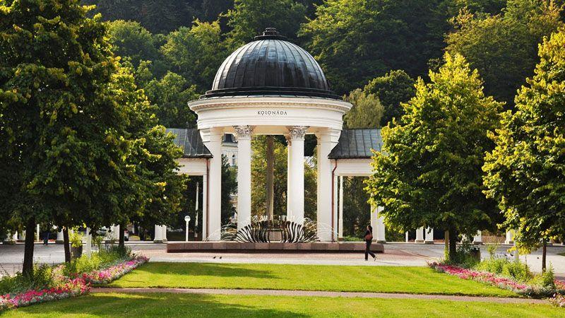 Mariánské Lázně - Rudolf Spring Colonnade