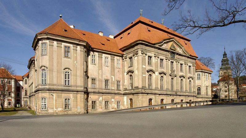 Le monastère de Plasy