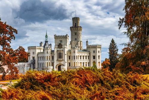Le château de Hluboká nad Vltavou