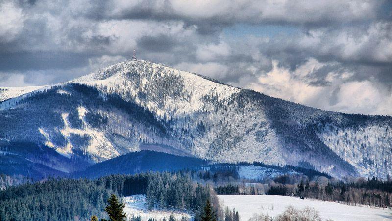 Beskiden – der Berg Lysá hora
