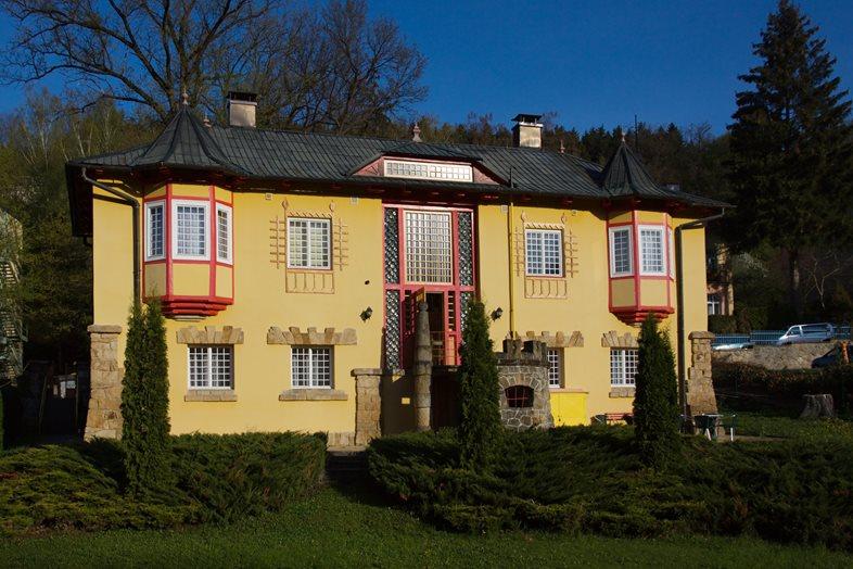 The Villas Valaška and Vlastimila in Luhačovice