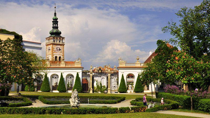 Микулов - замок