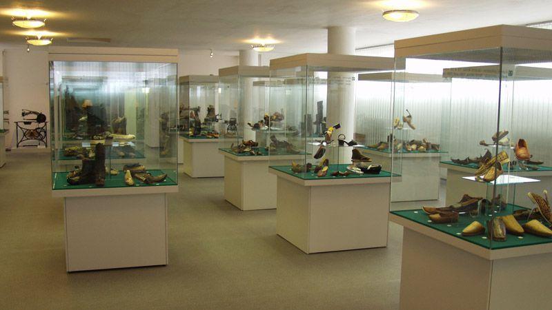 Le musée de la chaussure de Zlín