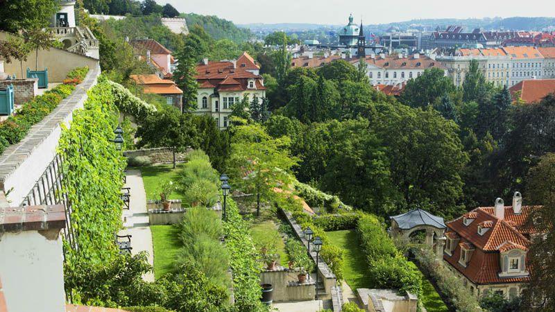 Praga – ogród Ledeburski