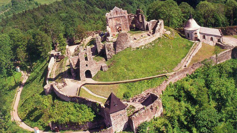 Castello di Potštejn