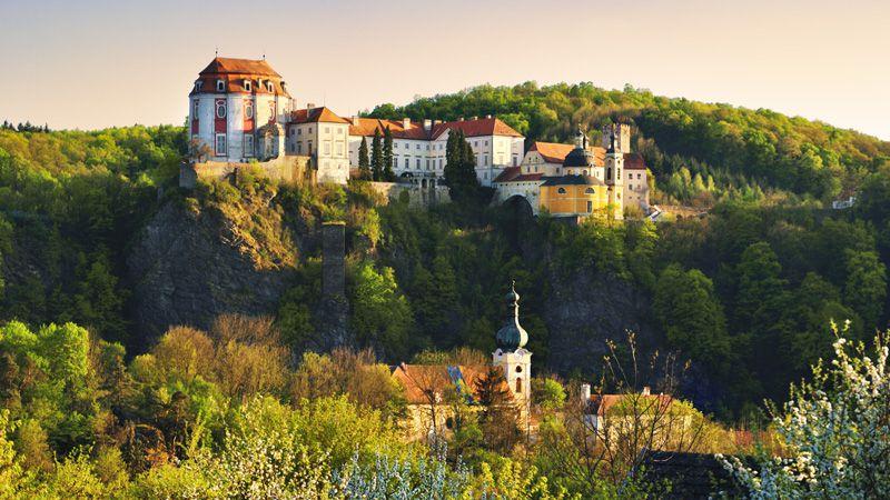 Le château de Vranov nad Dyjí
