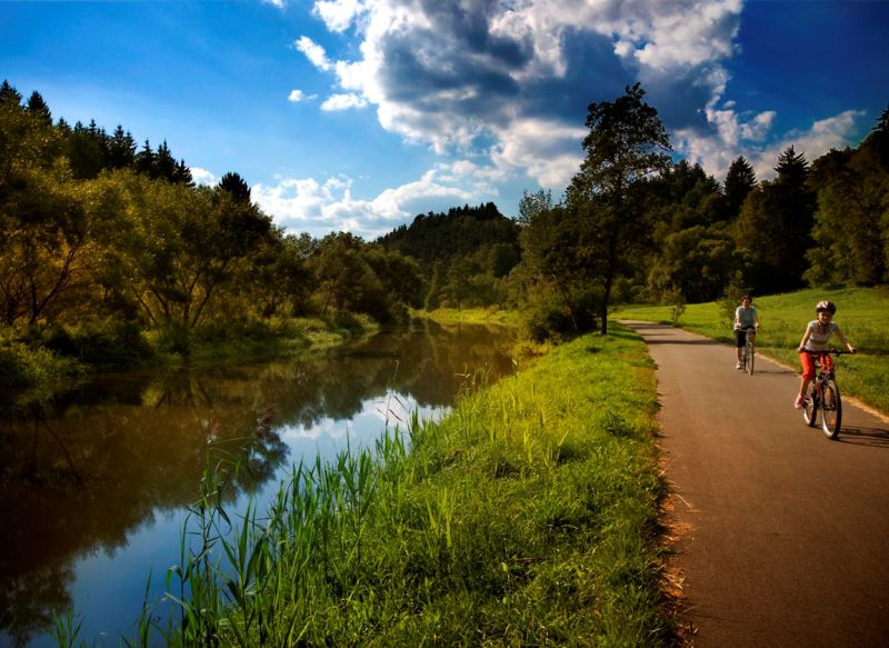 Jihlava – Třebíč – Raabs cycle path