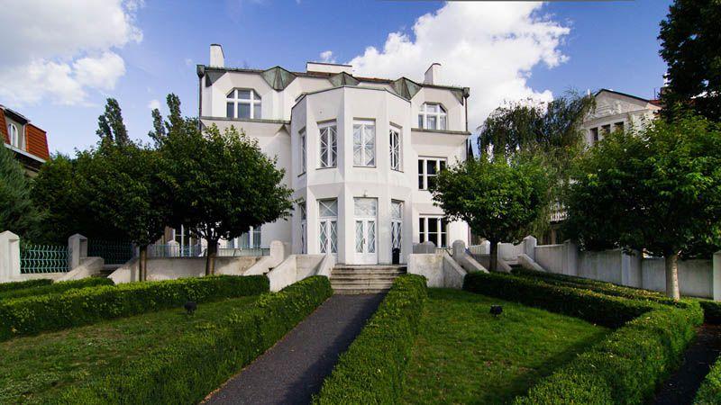 Villa Kovařovic - cubismo