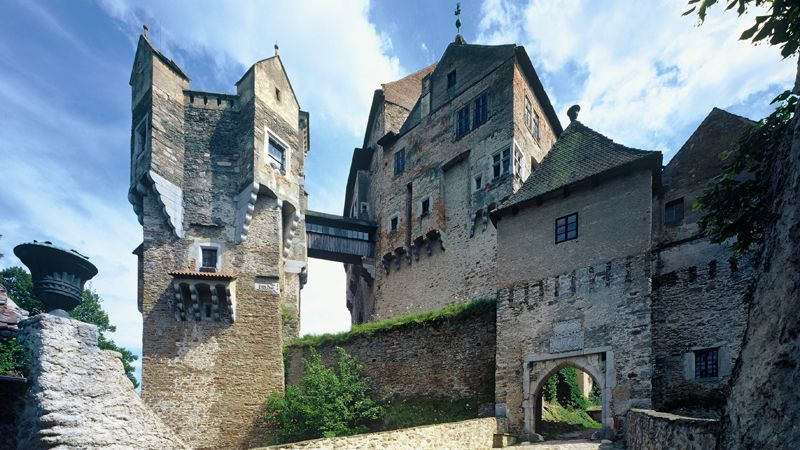Le château fort de Pernštejn