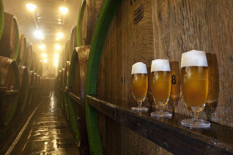 Pilsen - fábrica de cerveza Prazdroj de Pilsen