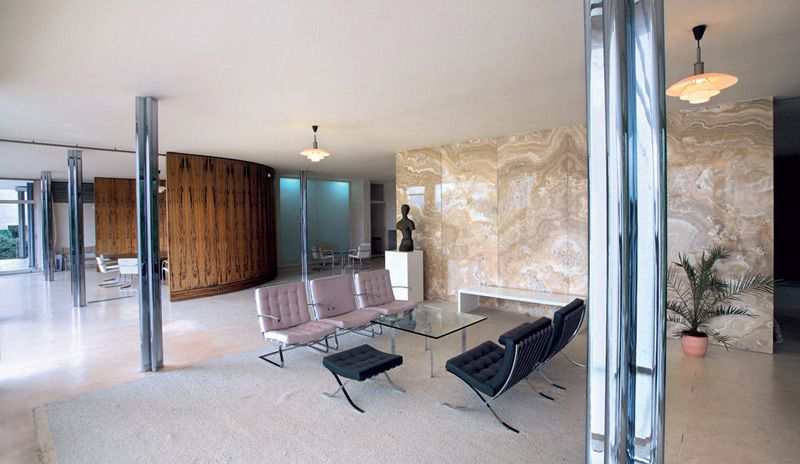 Brno - interior of Villa Tugendhat