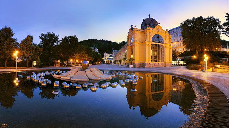 Marienbad – die Singende Fontäne