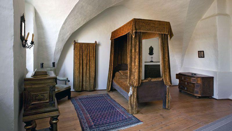 Le château fort de Pernštejn - intérieur