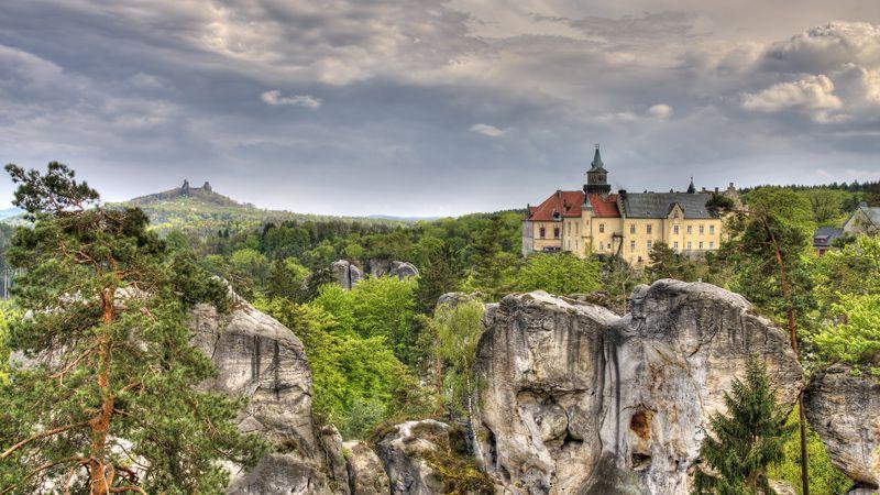 Le château de Hrubá Skála